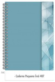 Caderno Pequeno Imã 407