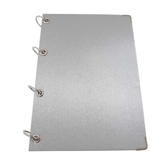 Caderno Argolado Prata