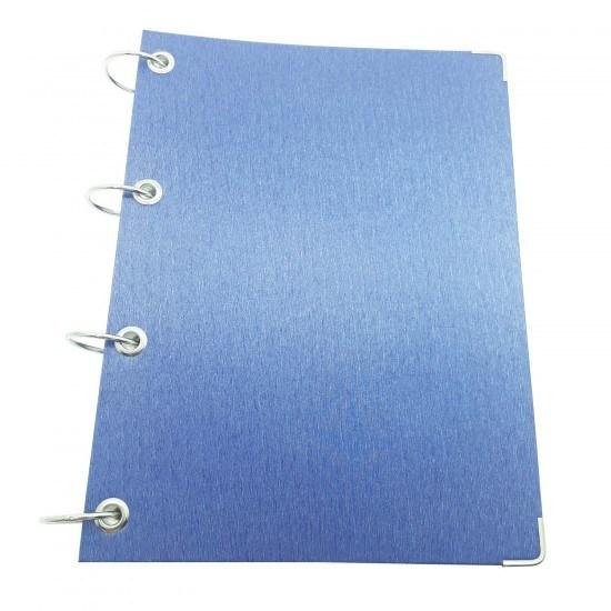 Caderno Argolado Azul