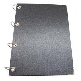 Caderno Argolado Preto