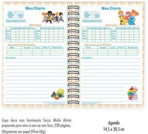 Miolo da Agenda Escolar