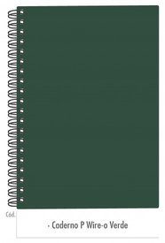 Caderno Verde