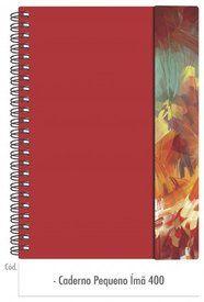 Caderno Pequeno Ímã 400