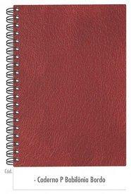 Caderno Bordô