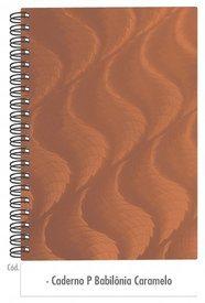 Caderno Caramelo