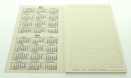 Miolo para Caderno Pequeno Reciclado