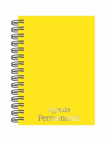 Agenda Permanente Wire-o Amarelo Verão