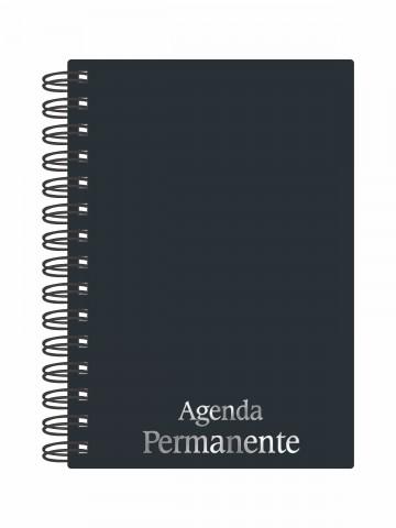 Agenda Permanente Wire-o Preta