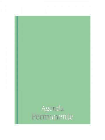 Agenda Permanente Costurada Verde Sereno