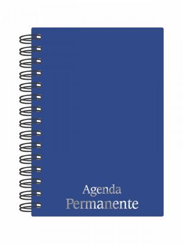 Agenda Permanente wire-o Azul