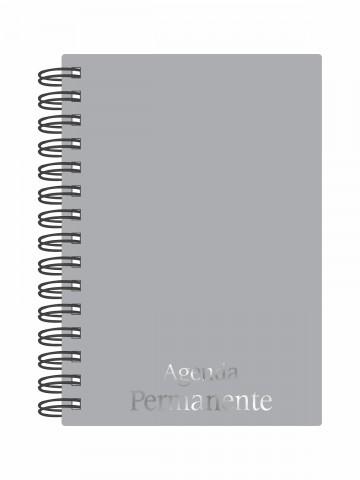Agenda Permanente wire-o Prata