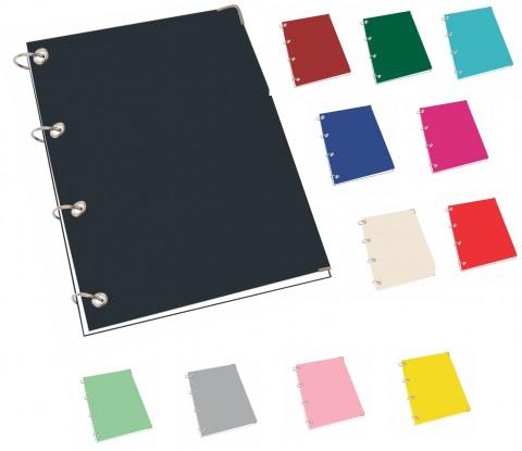 Caderno Argolado Color