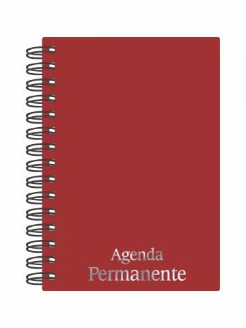 Agenda Permanente wire-o Vinho