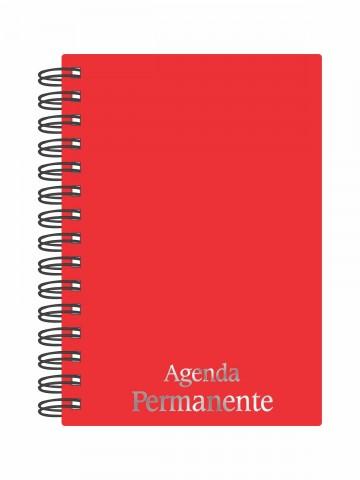 Agenda Permanente Wire-o Vermelho