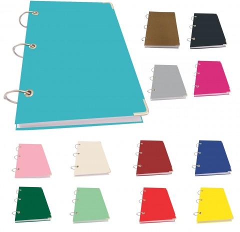 Caderno Argolado Pequeno Color